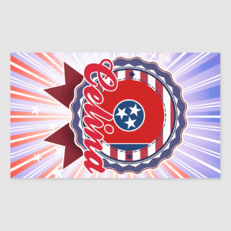 Celina TN Rectangle Sticker