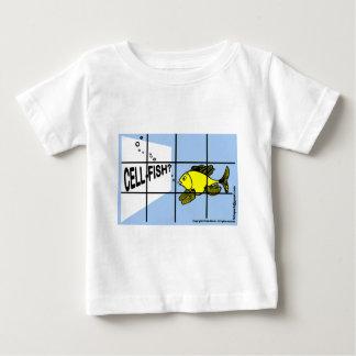 Cell-Fish Hilarious Cell Fish selfish fish cartoon Baby T-Shirt