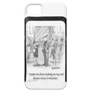 CELL PHONE ADDICT iPhone 5 COVER