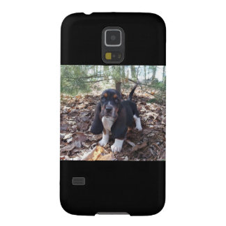 cell phone case Basset hound puppy