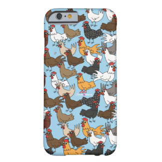 Cell Phone Case/Cover - Blue Barely There iPhone 6 Case