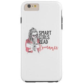 Cell Phone Case Smart Girls Read Romance Tough iPhone 6 Plus Case