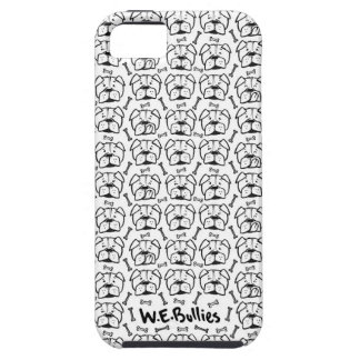 Cell phone marries with english bulldog pattern iPhone 5 covers