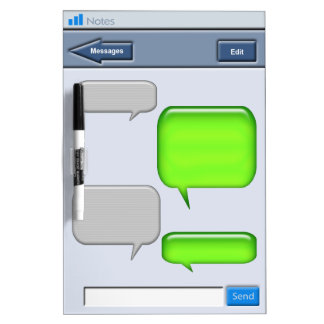 Cell Phone Text message Novelty Dry Erase Whiteboards
