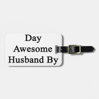 Cellist By Day Awesome Husband By Night Travel Bag Tag