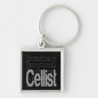 Cellist Extraordinaire Key Ring