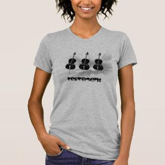 Cellists Represent! T-Shirt