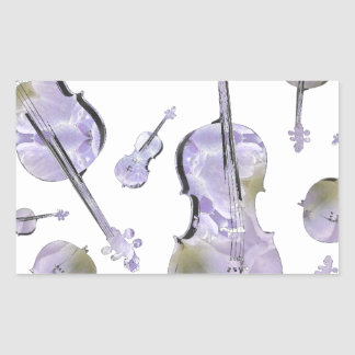 cello (15).jpg rectangular sticker