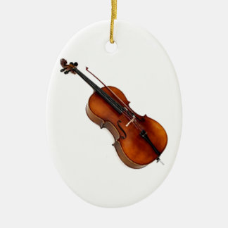 """""""Cello 1"""" design gifts and products Christmas Ornament"""