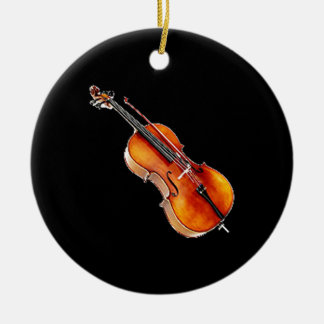 """Cello 2"" design gifts and products Christmas Ornament"