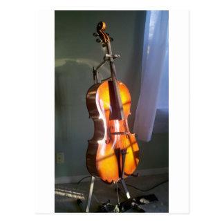 Cello 2 postcard