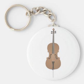 cello basic round button key ring