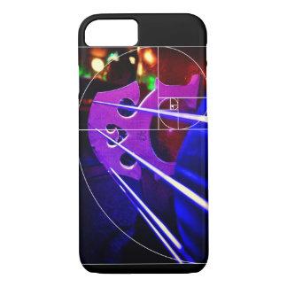 Cello bridge and Fibonacci spiral iPhone 8/7 Case