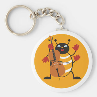 Cello Bug Key Ring