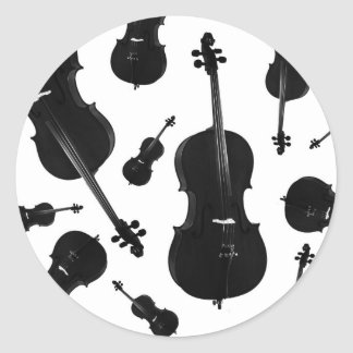 cello classic round sticker