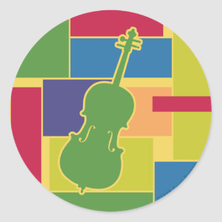 Cello Colorblocks Sticker