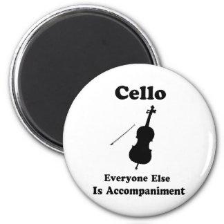 Cello Gift 6 Cm Round Magnet