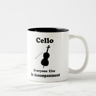 Cello Gift Two-Tone Coffee Mug