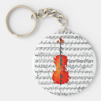 Cello & I Rock!_ Key Ring