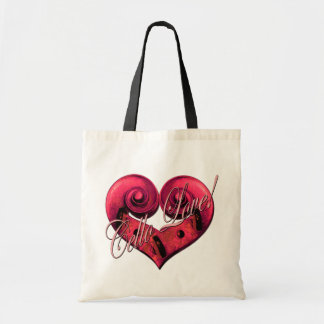 cello love Pink Tote