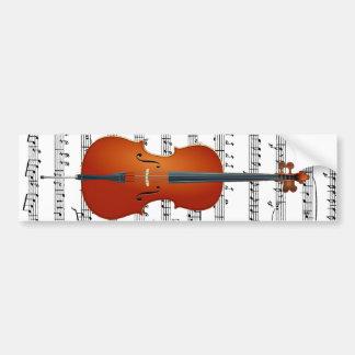 Cello & Me_ Bumper Sticker