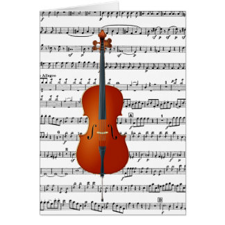 Cello Me_ Greeting Cards