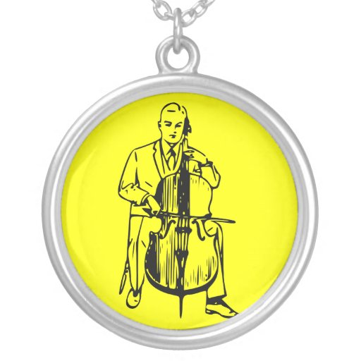 Cello one plays brook necklace