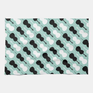 Cello Pattern Tea Towel
