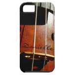 Cello Player Personalised iPhone Case iPhone 5 Cover