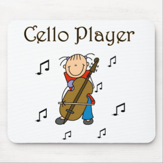 Cello Player Tshirts and Gifts Mouse Pad