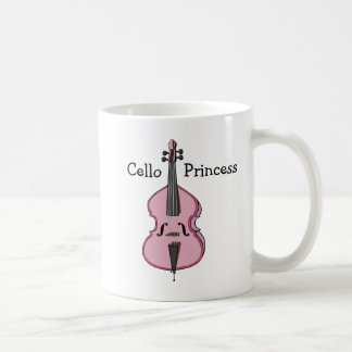 Cello Princess Coffee Mug