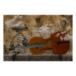 Cello Steampunk Suite Poster