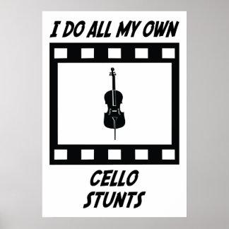 Cello Stunts Poster