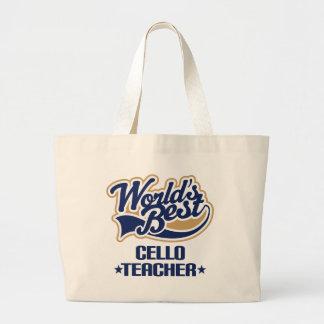 Cello Teacher Gift Large Tote Bag