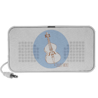 Cello There Laptop Speakers