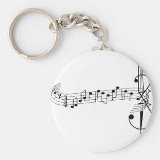 Cello Waltz Basic Round Button Key Ring