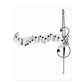 Cello Waltz Postcard