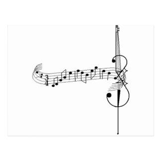 Cello Waltz Post Cards