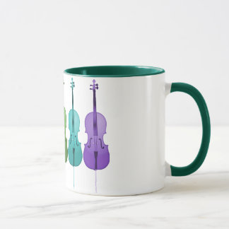 Cellos and Color Mug