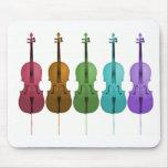 Cellos and Colour