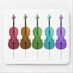 Cellos and Colour Mouse Mats