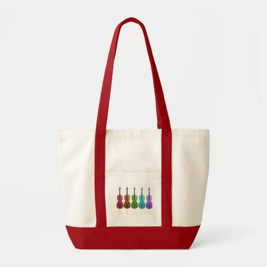 Cellos and Colour Tote Bag