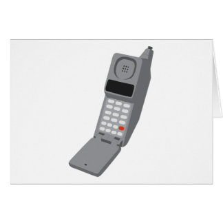 Cellphone - Retro Cell Phone Vintage Telephone Card