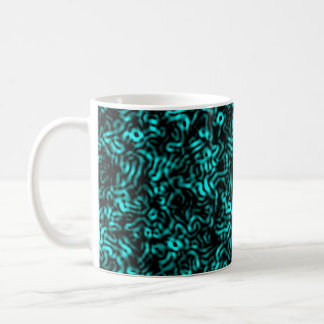 Cellular Blue Coffee Mug