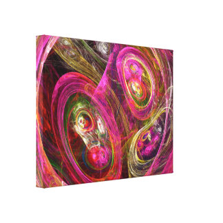 Cellular Gallery Wrapped Canvas