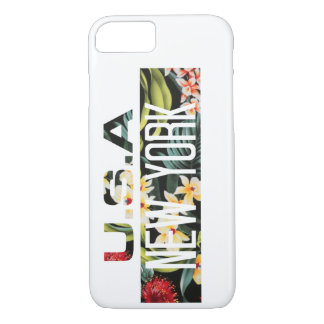 CELLULAR LAYER FLORAL NEW YORK iPhone 8/7 CASE