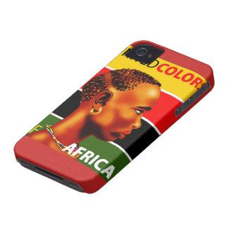 Cellular layer iPhone 4 Africa iPhone 4 Case