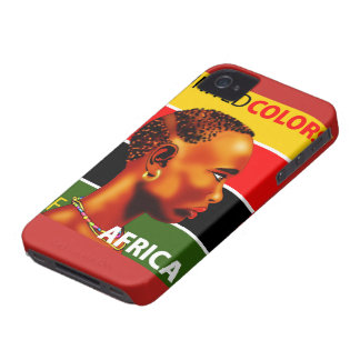 Cellular layer iPhone 4 Africa iPhone 4 Cases