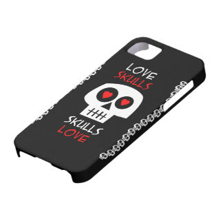 Cellular layer iPhone 5 Skulls Love iPhone 5 Cover