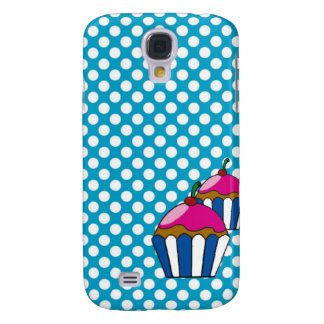 Cellular layer of cupcake and small balls galaxy s4 case